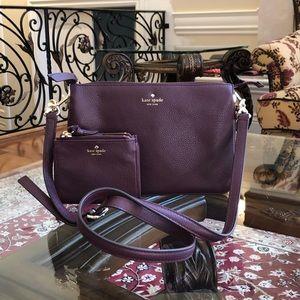 Kate spade Madelyne larchmont ave crossbody&wallet